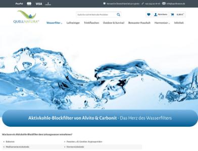 Quellnatura webseite
