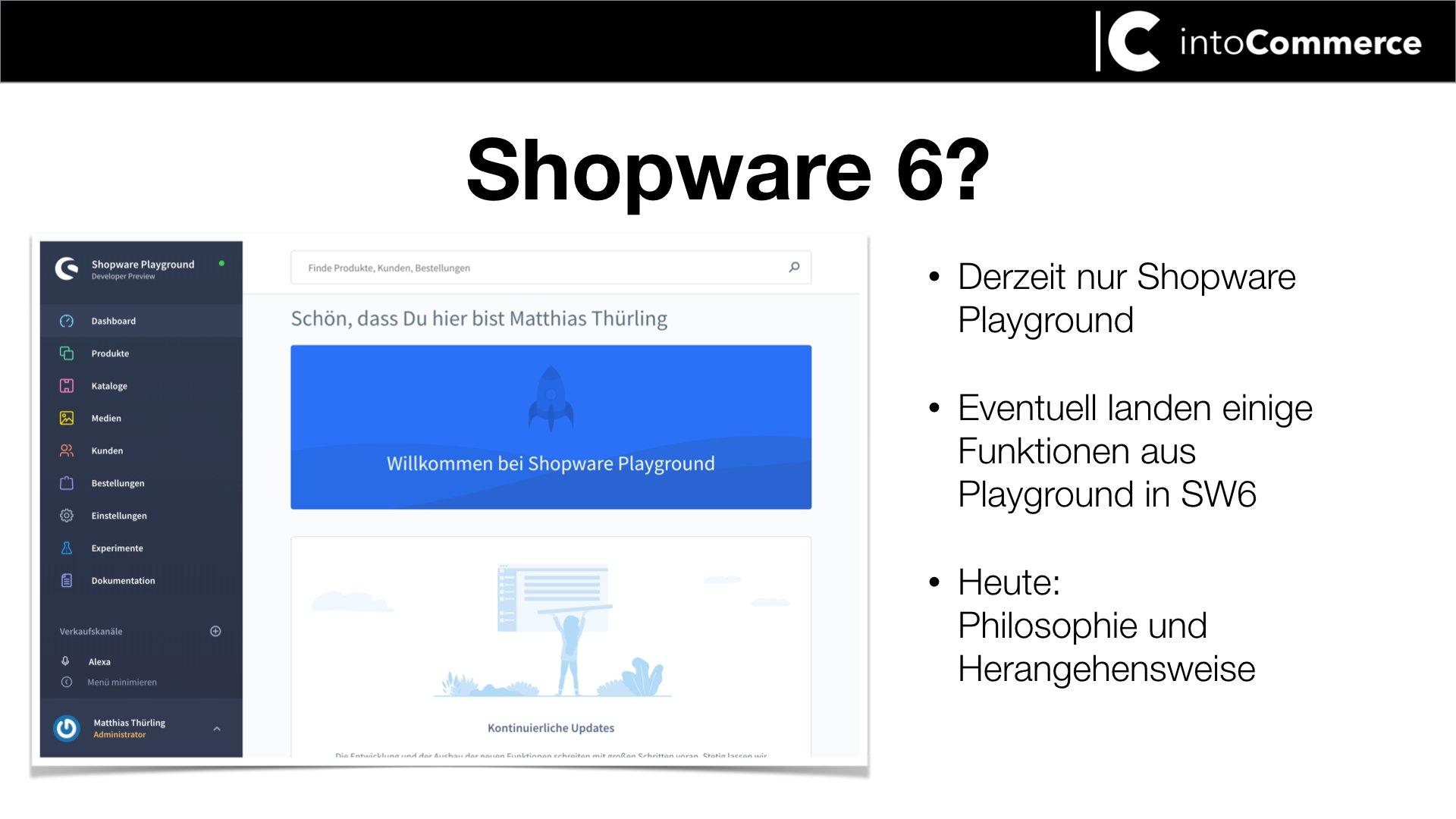 Shopware 6 Interface