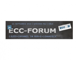 "Banner zum ECC-Forum ""Cross-Channel im B2B-E-Commerce"""