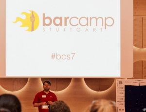 BarCamp Stuttgart 2014 Bühne