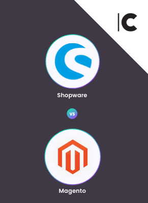 Shopware und Magento Logo